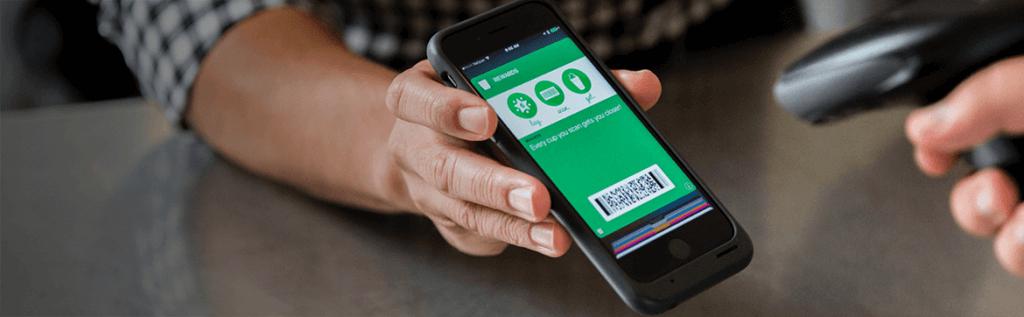 Сканирование карты в смартфоне клиента
