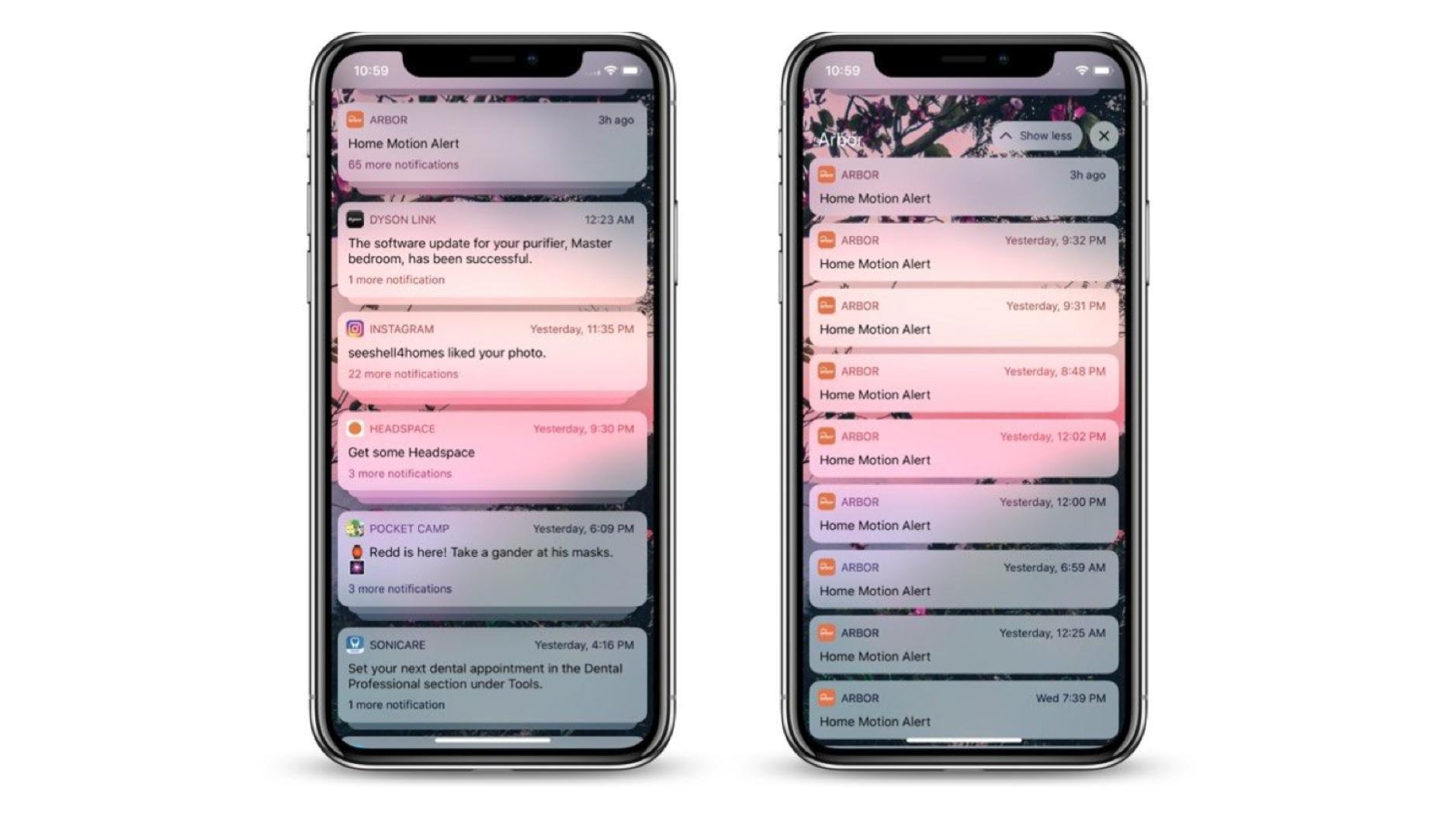 Обзор iOS 12: Изменения в уведомлениях