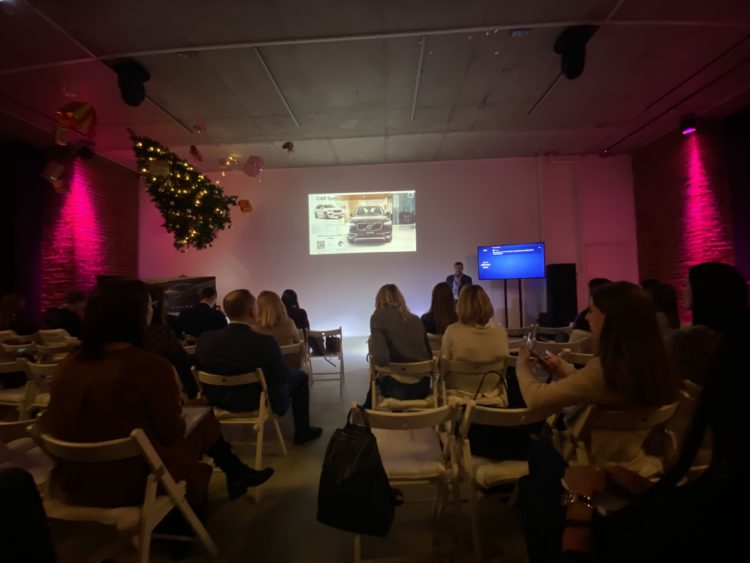 OSMI Cards на Volvo Marketing Summit в качестве спикера по Customer Experience